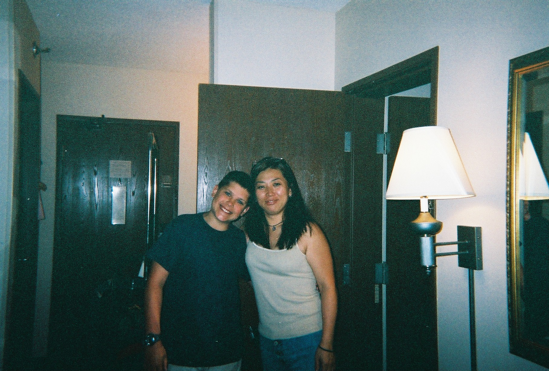Mike and MJ Kim, Karey's mother 2004