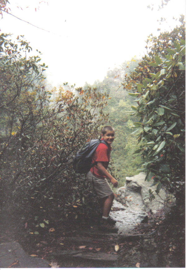 On the Edge! Linville Gorge 2001
